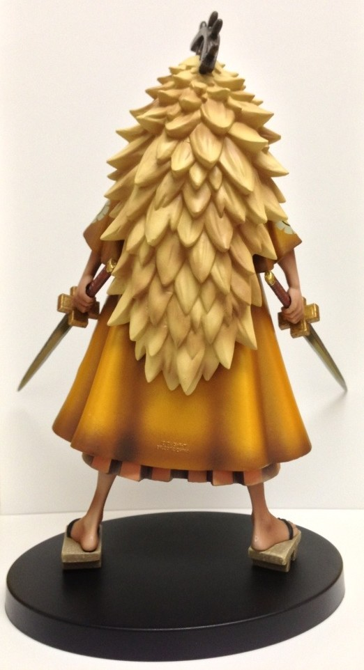One Piece DX Shiki Figure Back Hair Banpresto Figure