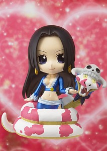 Chibi Arts Boa Hancock with Salome Blue Version