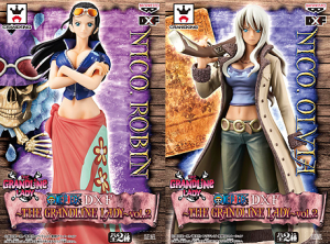 One Piece DX Grandline Lady Vol 2 Nico Robin and Nico Olivia Figures