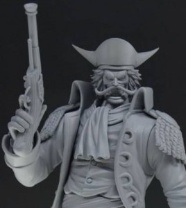 One Piece Gold Roger Portrait of Pirates Figure Close-Up