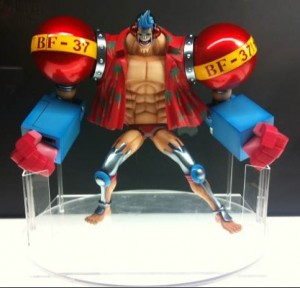 One Piece POP SA Franky Figure Megahobby Expo 2012