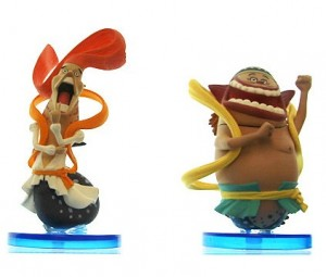 One Piece WCF 31 Prince Manboshi and Prince Ryuboshi