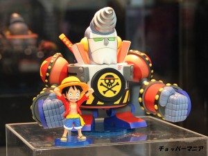 One Piece WCF Mega Franky Shogun Mech Figure