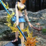 Side of Bandai One Piece Figuarts Zero Nami Battle Ver. Figure