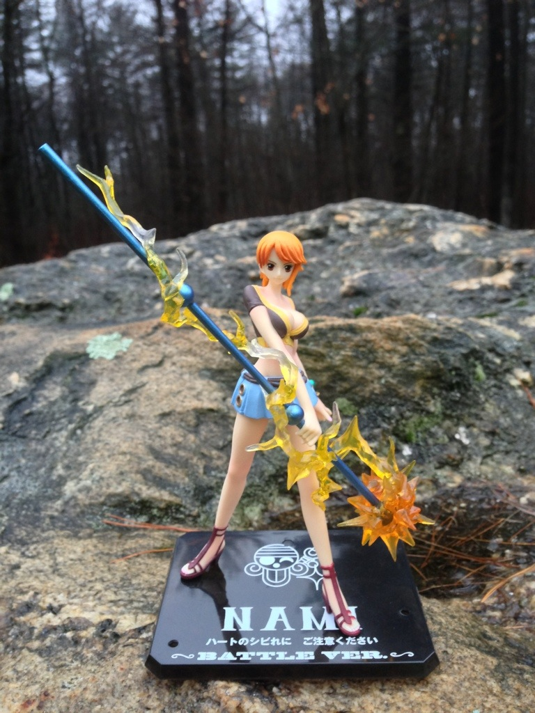One Piece Figuarts Zero Nami Battle Ver. Figure
