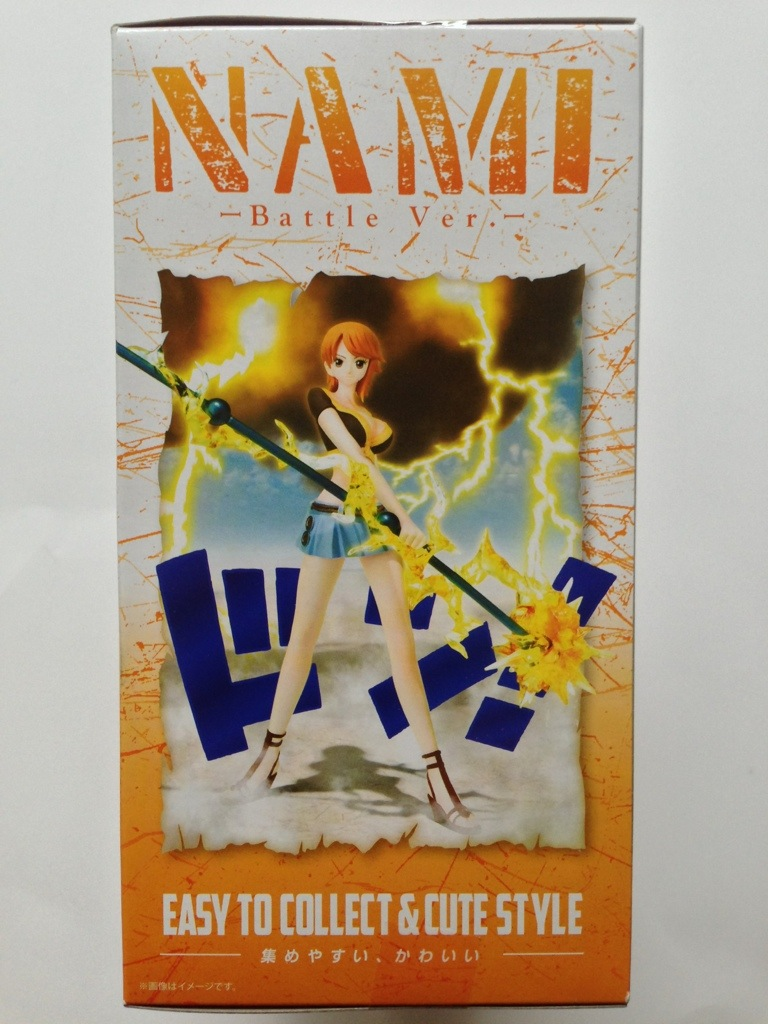 One Piece Figuarts Zero Nami Box Left Side Battle Ver. Bandai
