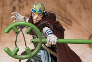 Figuarts Zero One Piece Sogeking Unmasked Usopp Battle Ver. Figure