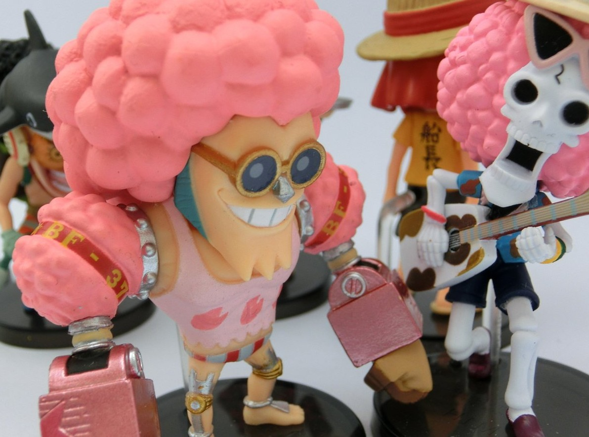 One Piece Z Movie Franky and Brook WCF Figures