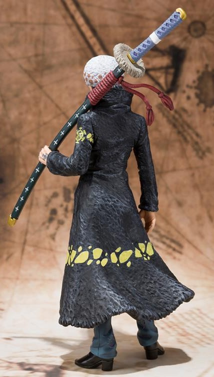 2013 Figuarts Zero One Piece Law Punk Hazard Figure Back