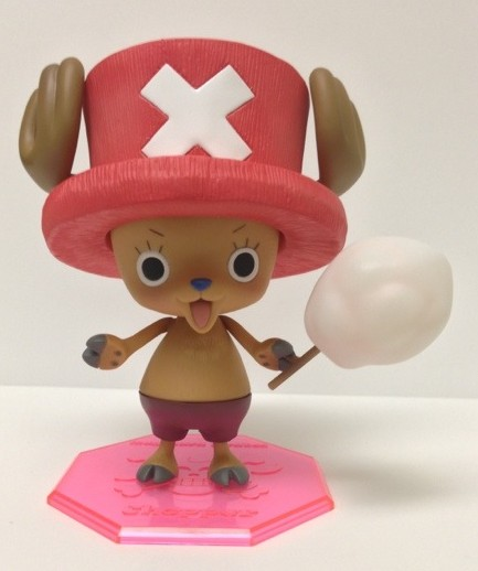One Piece Portrait of Pirates Tony Tony Chopper Figure with Cotton Candy