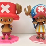 One Piece Portrait of Pirates Chopper Limited DX and Kyupin Ver. New World Comparison