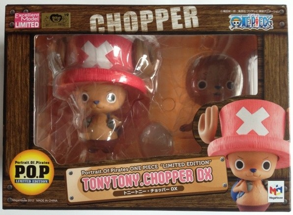 One Piece POP Limited Tony Tony Chopper DX Figure Box