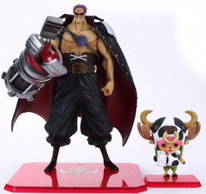 Bandai Figuarts Zero One Piece Film Z Chopper and Zetto Scale Photo
