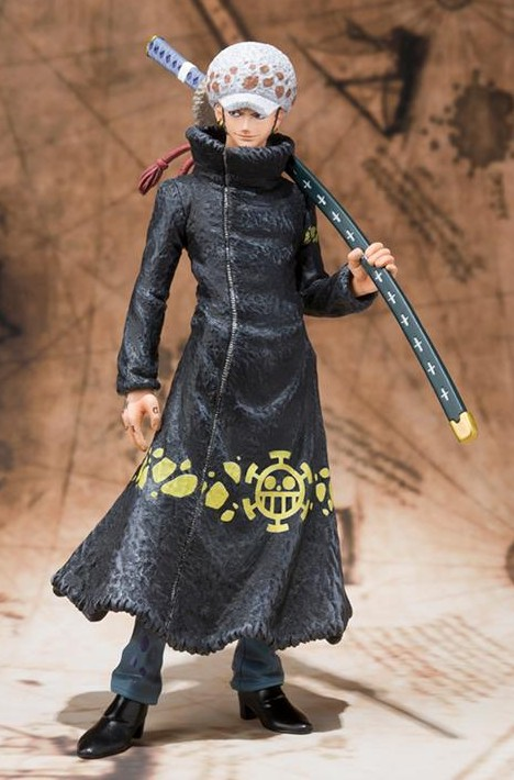 Bandai One Piece Figuarts Zero Trafalgar Law New World Ver. Figure