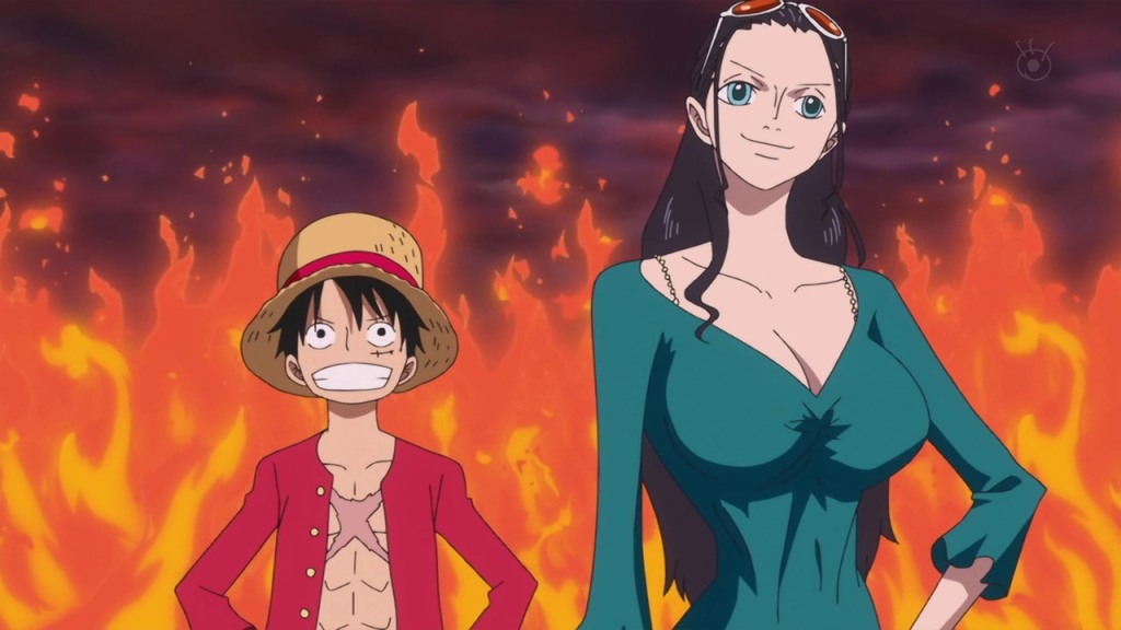 One piece 579 luffy and nico robin sceenshot one piece z - One piece luffy x robin ...