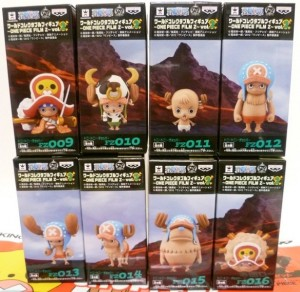 One Piece Z WCF Vol. 2 Box Tony Tony Chopper Forms Set