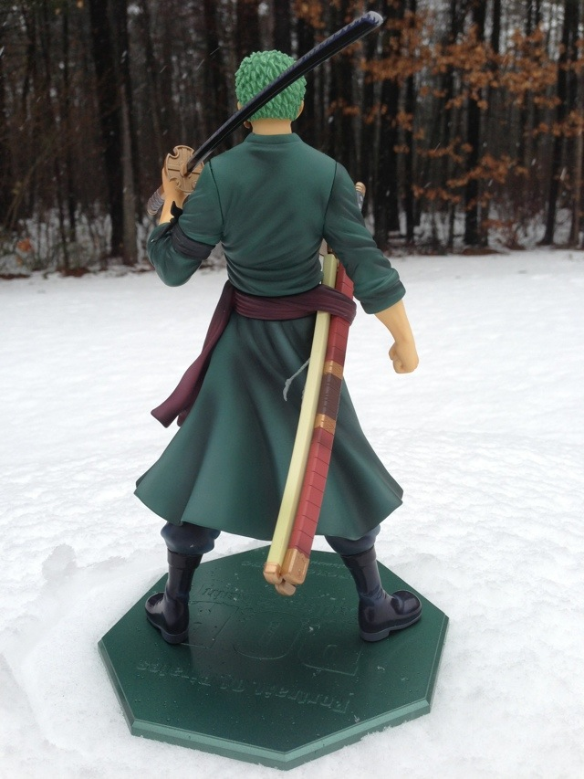 Roronoa Zoro Portrait of Pirates Sailing Again Figure Back MegaHouse