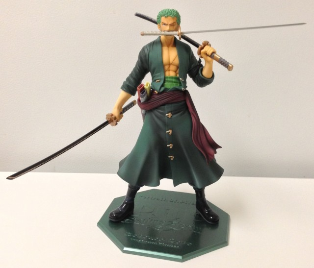 One Piece Sailing Again P.O.P. Roronoa Zoro Figure Three Sword Style MegaHouse