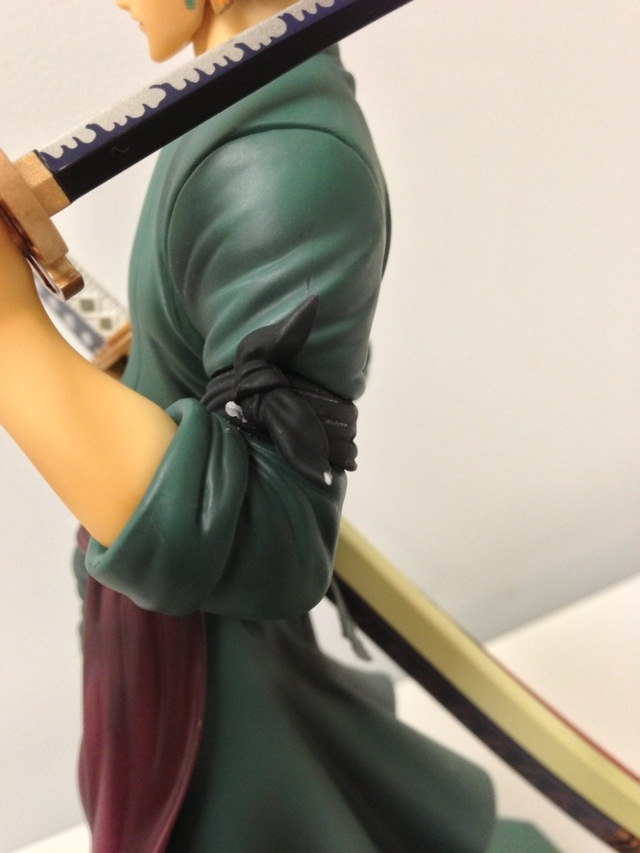 One Piece Portrait of Pirates Zoro Sailing Again Quality Control Issues on Sash