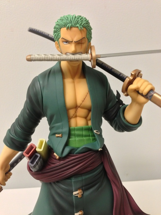 Portrait of Pirates New World Zoro Three Sword Style Close-Up