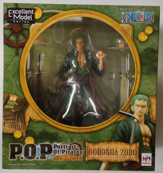 One Piece P.O.P. Sailing Again Roronoa Zoro Box MegaHouse