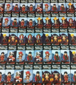 One Piece Film Z WCF Vol. 3 Set Boxes