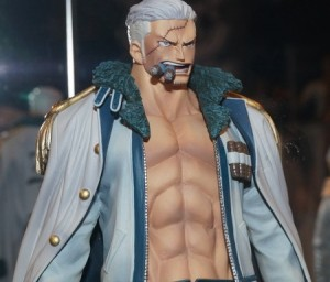 One Piece Grandline Men Vol. 16 Vice Admiral Smoker Timeskip Figure Banpresto