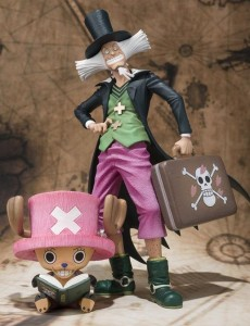 Figuarts Zero One Piece Chopper and Dr. Hiluluk Figures July 2013