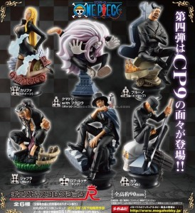 One Piece CP9 Chess Piece Collection Poster