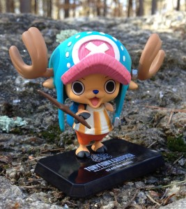 One Piece Chopper Figure In The Wild