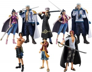 One Piece Chozokei Damashii Law's Ambition Punk Hazard Set