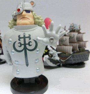 One Piece Z WCF PX-Z Pacifista Figure Vol. 4