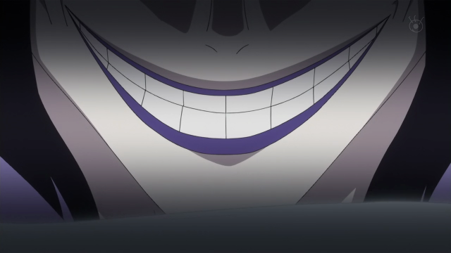 Caesar Clown Evil Smile One Piece Episode 589 Anime