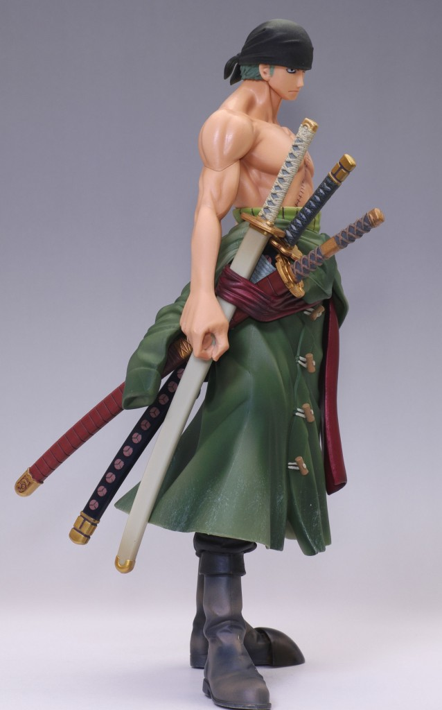 Master Stars Piece Roronoa Zoro with Swords Sheathed Banpresto One Piece 2013