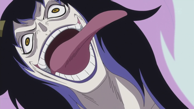 One Piece Anime Caesar Crown is Insane Laughing Manically Episode 589