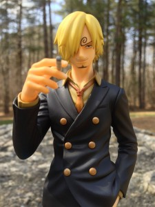 One Piece Sailing Again Sanji POP MegaHouse Figure Close-Up
