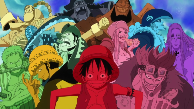 One Piece The Worst Generation 11 Supernovas