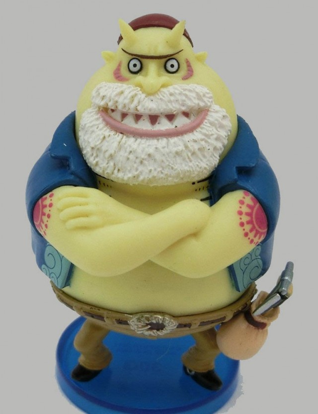 One Piece WCF 30 Tom of Tom's Workers from Water 7 Figure
