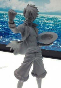 2013 MegaHobby Expo One Piece Z Monkey D Luffy Figure