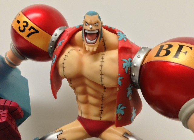 Figuarts Zero One Piece Franky Shaved Head Close-Up