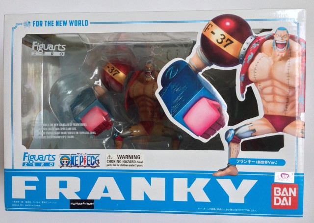 One Piece Figuarts Zero Franky Figure Box Reissue Front
