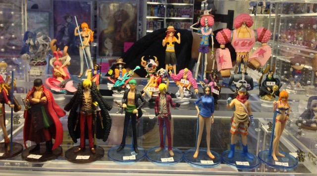 Bandai One Piece Z Styling Figures at Anime Boston 2013