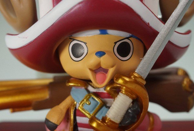 Close-Up of One Piece Z Tony Tony Chopper Figuarts Zero Figure Bandai