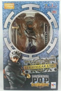 One Piece Portrait of Pirates Law Sailing Again Box Front