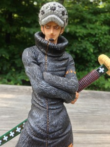 POP Trafalgar Law MegaHouse Figure with Arms Crossed