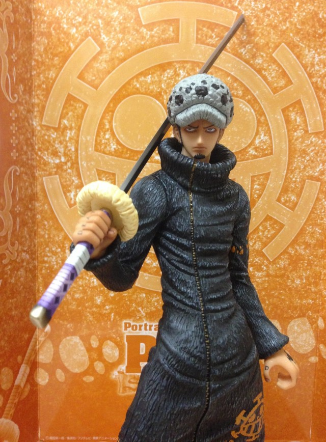 One Piece POP Punk Hazard Law Holding His Sword MegaHouse