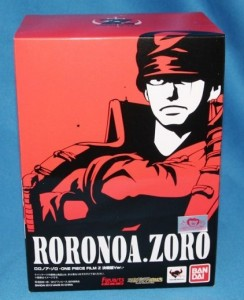 Figuarts Zero One Piece Z Roronoa Zoro Box Figure