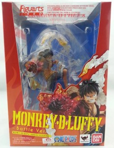Monkey D. Luffy Battle Ver. Figuarts Zero Box