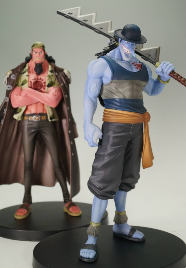 One Piece Fisher Tiger and Young Arlong Grandline Men Figures Vol. 15 2013