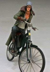 One Piece Z New World Aokiji Bicycle Banpresto Grandline Vehicle Toy